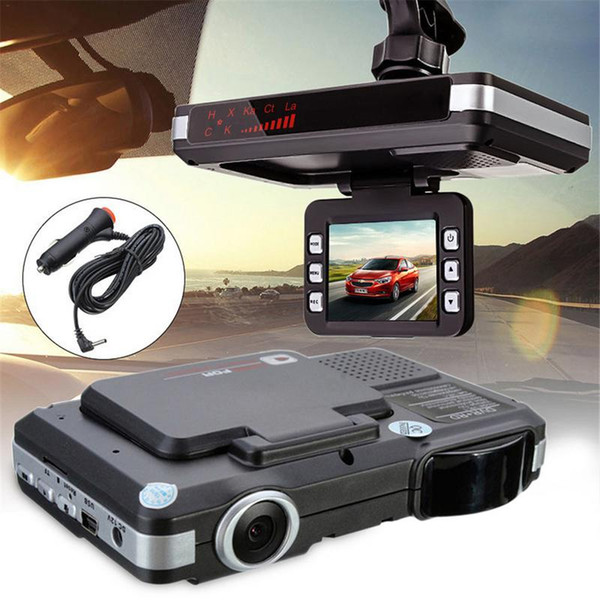 New 2 In 1 MFP 5MP Car DVR Recorder+Radar Laser Without Night Vision Function 720P Speed Detector Trafic Alert English Russian