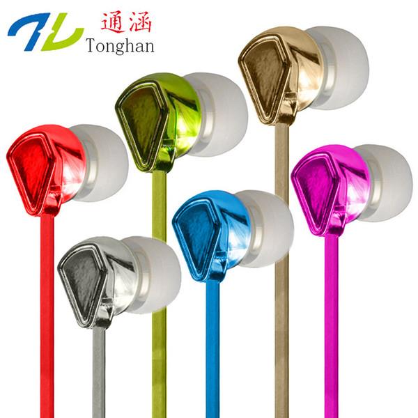 Fones De Ouvido Estéreo WD18 3.5mm Fones De Ouvido Para MP3 MP4 Do Telefone Móvel Para PC