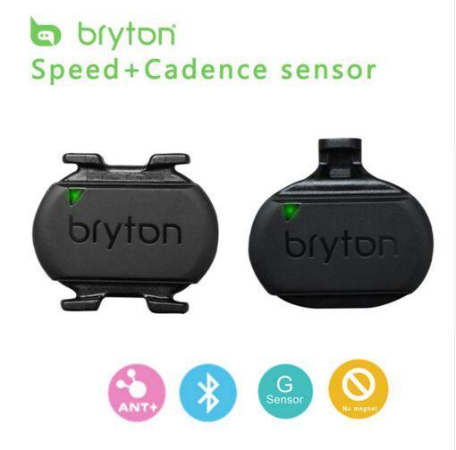 G-Sensor + Bluetooth Bryton velocidad sensor de cadencia ANT para el GPS del cycling computer compatible Garmin Edge 520 Bryton iGPSPORT iGS