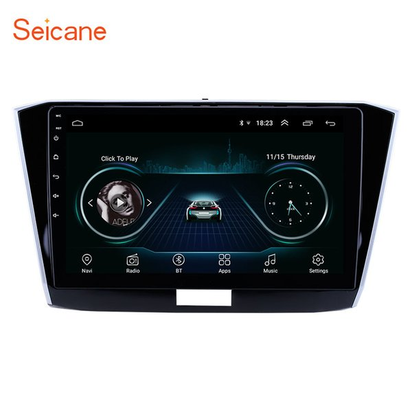 10.1 inch Android 8.1 GPS Navigation Car Stereo for 2016-2018 VW Volkswagen Passat with HD Touchscreen Bluetooth USB support Carplay TPMS