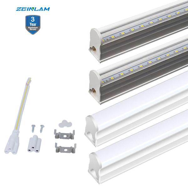 T5 integrierte LED Shop Light LED Deckenleuchte und T5 Tube Lighting Fixture für Werkstatt-LED-Glühlampe