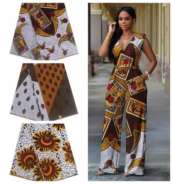 100% Cotton Print Fabric Ankara Cotton Material Wholesale And Retail Wax Hollandais New African Wax Print Fabric Holland