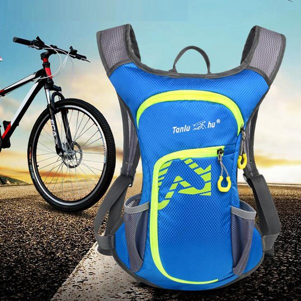 top popular Cycling Backpack Large Capacity Shoulders Bag Running Knapsack Ultra Light Outdoor Adjustable Shoulder Strap Hiking Bag ZZA1062 2019