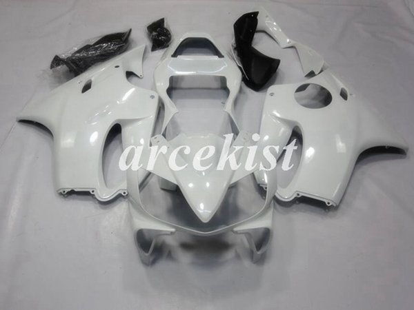 4 Free Gifts New ABS Injection Mold Full Fairings Kit Fit For HONDA CBR600 F4i FS 2001 2002 2003 01 02 03 01-03 bodywork set Pearl white
