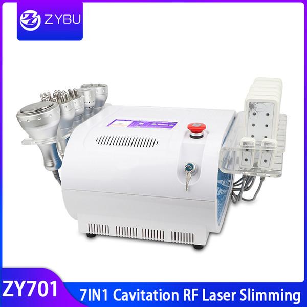 7in1 cavitazione vuoto bipolare tripolare bipolare multipolare fotone laser lipo scultura del corpo perdere peso cavitazione rf corpo macchina dimagrante