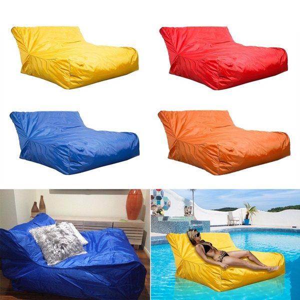 Wondrous Float Beanbag Swimming Pool Floating Bean Bag Cover Waterproof Reading Relaxing Soft Lounge Chair Sofa Bean Bag Cover Outdoor Dining Chairs Covers For Unemploymentrelief Wooden Chair Designs For Living Room Unemploymentrelieforg