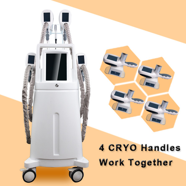 cryolipolysis Body slimming machine fat freezing weight loss cryolipolysis slimming machine 4 cryo handle work at same time