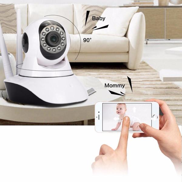 tapón de la cámara HD 1080P giantree monitor de bebé WIFI IP de la red inalámbrica cámara de visión nocturna Despacho Universal Inicio de seguridad de EU / US