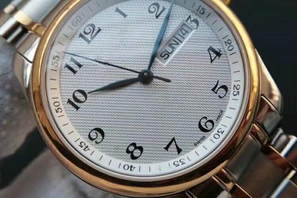 2019New fashion man watch modern stylish Light comfort Fine steel watch band Automatic movement Sapphire mirror