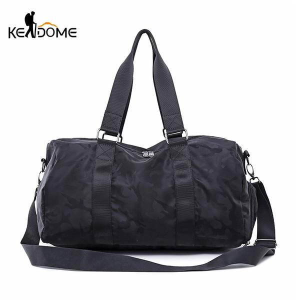 Woman Gym Beach Bikini Bag Travel Fitness Training Sports Yoga Duffel Waterproof Large Capacity Men Bag Handbag For ShoesXA809WD #768163