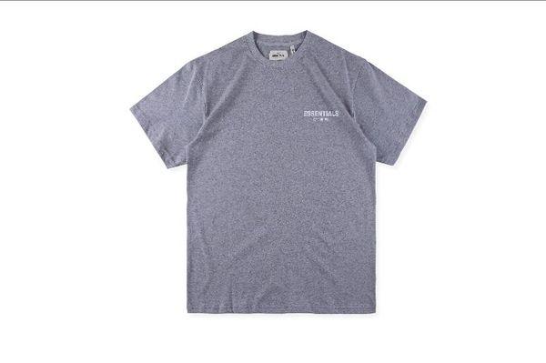 2019 FEAR OF FOG GOD ESSENTIALS BOXY PHOTO Big five pointed star T Shirt Men Women Summer Street Logo Print Short Sleeves Casual