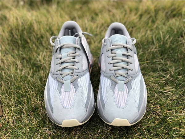 2019 Authentic Originals 700 Inertia Grau BASF Kanye West Wave Runnner Laufschuhe Herren Sneakers Mauve Static APE779001 Mit Box 36-47