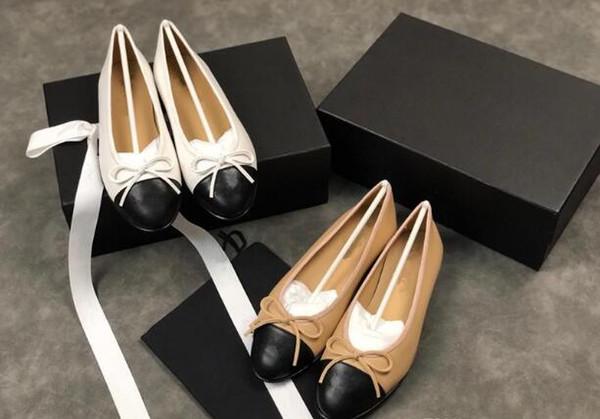 2019 chaussures de mocassins en cuir avec boucle Marque Mode Hommes Femmes une variété de pantoufles de style Ladies Casual Flats 34-42 xne18121