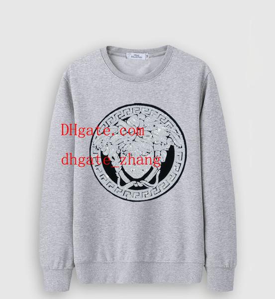Neue Mens Marke Hoodies Sweatsuit Stickerei drucken hochwertige lose Fit Hoodie Baumwolle Sweatshirt Trainingsanzug Herren Kleidung Trainingsanzug GUU-1