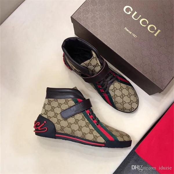 Toptan Moda Erkekler Wome Lüks Marka Kırmızı Alt Erkek Tasarımcılar Sneakers Moda G Düşük Rahat Düz Açık Zapatillas Sürüş Ayakkab ...