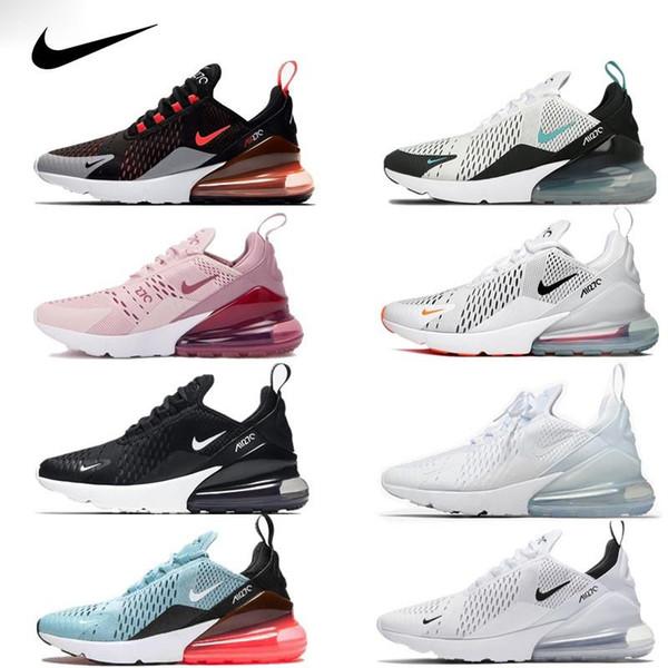 best selling 270 Vapors Running Men Shoes Olive Bruce Lee Rainbow TN 27C Triple Airs University Splashing ink Maxes 270s Woman Sneakers Size 36-4