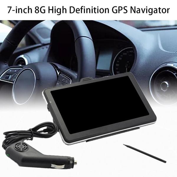 7 pouces 8G Hd Gps Navigator Navigation voiture appareil de navigation portable voiture périphérique externe MP5 Hd écran tactile