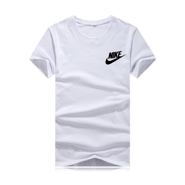 Оптовая продажа спортивного бренда маленький логотип 3D печать Бег баскетбол с короткими рукавами футболки мужчины женщины 9 цвет повседневная мужская футболка майка O шеи рубашка