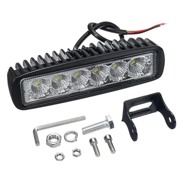 ARILUX 12V 18W 6LED Impermeabile Fari a LED Proiettori da lavoro a luce indiretta da campeggio