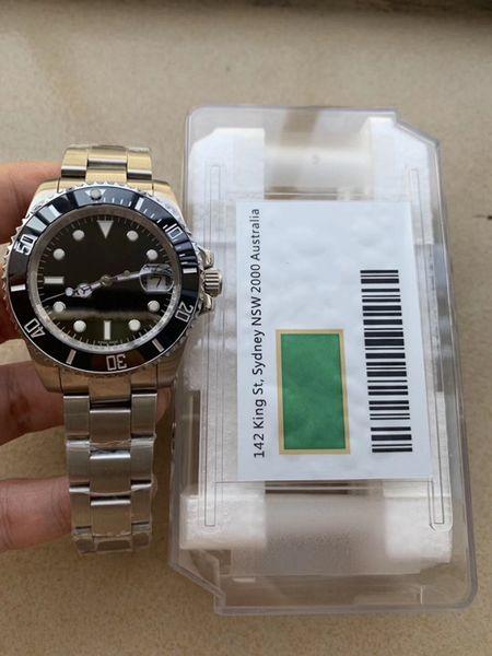 relógios por atacado de luxo, R X, safira, ET A Movimento, bloqueio Glide, bons preços, relógios mecânicos automáticos dos homens, entrega gratuita