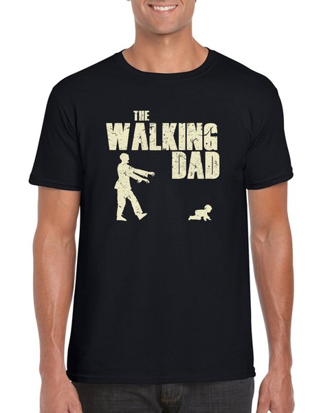 """"""" The Walking Dad """" Fathers Day Walking Dead TV Parody Gift Inspired T Shirt jacket croatia leather tshirt"""