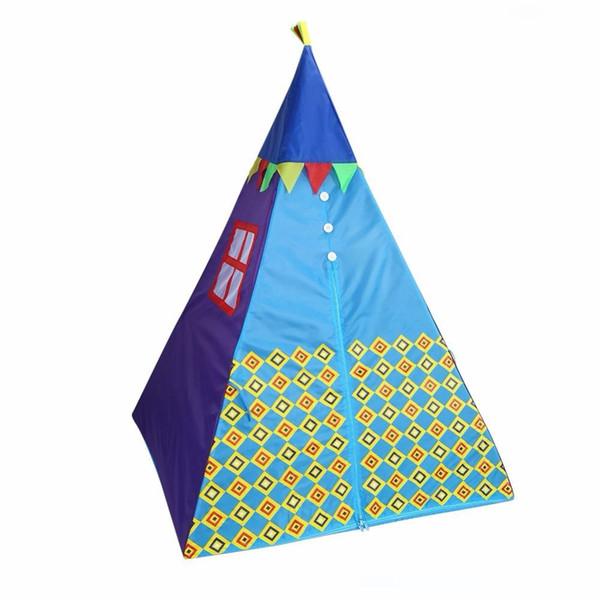 Portable Outdoor Indoor Tenda bambini plastica in PVC 1-10 anni che dormono tenda del gioco dei bambini Playhouse con la lampada principale