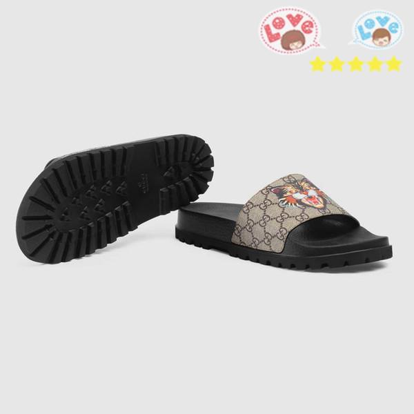 2018 sandali piatti da uomo sandali donna all'avanguardia moda pantofola di lusso stile caldo MM64