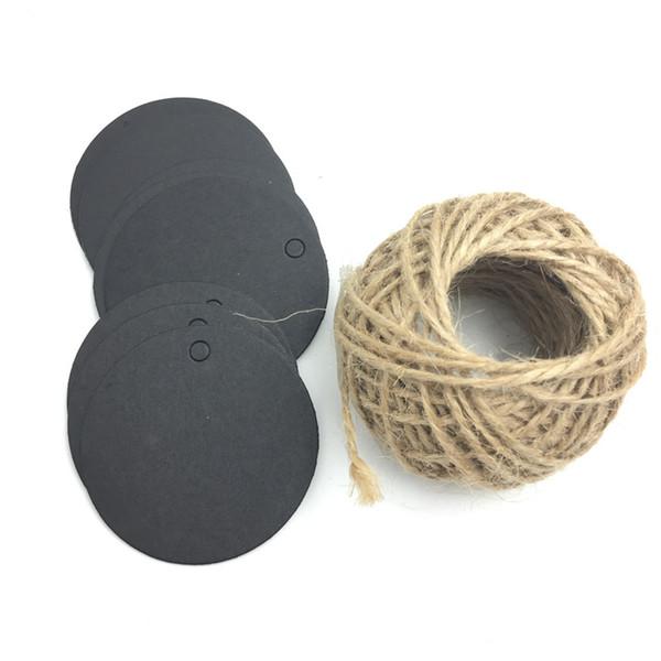 schwarz mit 15m Seil