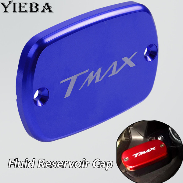 CNC Alüminyum Motosiklet Ön Fren Rezervuar Sıvı Deposu Kapağı Yamaha TMax 530 için Modifiye Aksesuar T-MAX 500 tmax530 DX SX