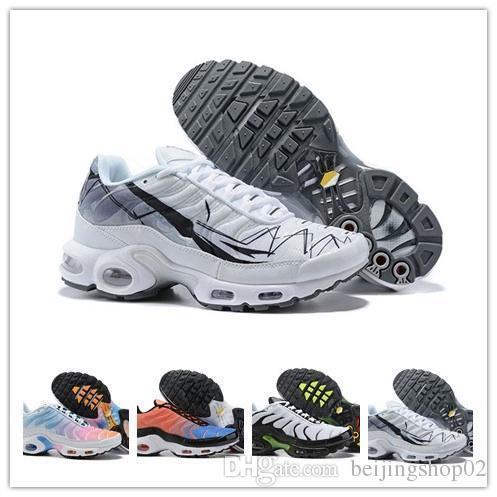 nike air max Off white Flyknit Utility TN Plus  traspirante chaussure homme Tn Requin zapatillas OG sport Sneakers da basket Tns scarpe da ginnastica