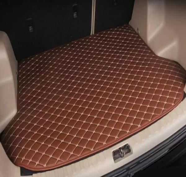Aplicável para 2010-2019 Hyundai ix35 carro tapete de bagagem antiderrapante tapete de couro à prova d 'água tapete do carro