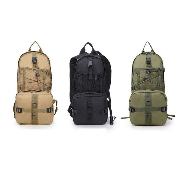Outdoor sports mountaineering riding water bag large capacity Shoulder Camouflage Bag folding military fan tactical backpack LJJZ233