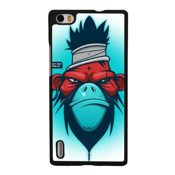 Monkey Comic Pattern Phone Case For Iphone 5c 5s 6s 6plus 6splus 7 7plus Samsung Galaxy S5 S6 S6ep S7 S7ep