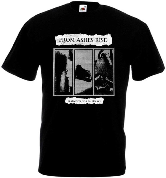 From Ashes Rise Fragments Of A Fallen Sky all sizes S-5XL BLACK Funny free shipping Unisex Casual Tshirt top