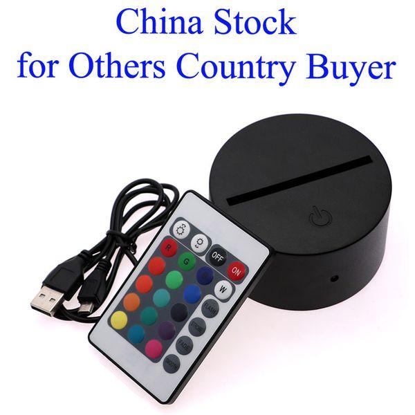 China Stock 3D-Basis