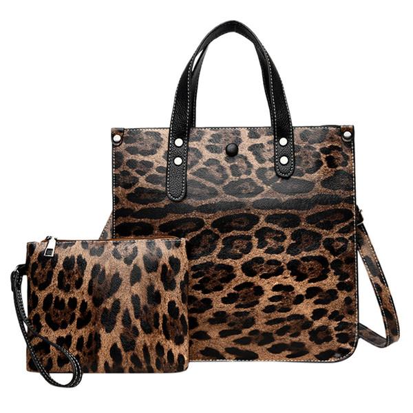 Women Bag Set handbagd leopard Female Chest bag high Capacity Handbag Fashion Shoulder Purse Ladies PU Leather Crossbody
