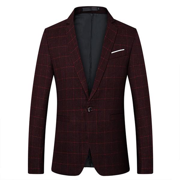 Design Autumn Spring Suit Brand 2018 New Arrival Clothes Men Blazers Fashion Slim Male Suits Casual ASIAN Size M-5XL