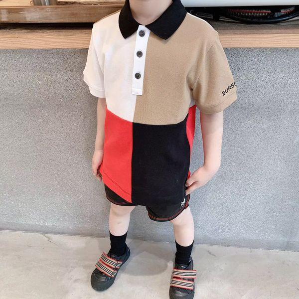 top popular 2020 New Children's T-Shirt Summer Cotton Short Sleeved Shirt Baby Boys Girls Polo Ou Shirt Kids Polo Clothes 2020