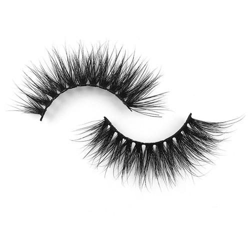 3D 100% real Mink Fur False Eyelashes Wholesale Private Label Free Sample Customize Packaging Real 3D Mink Eyelashes 3D633