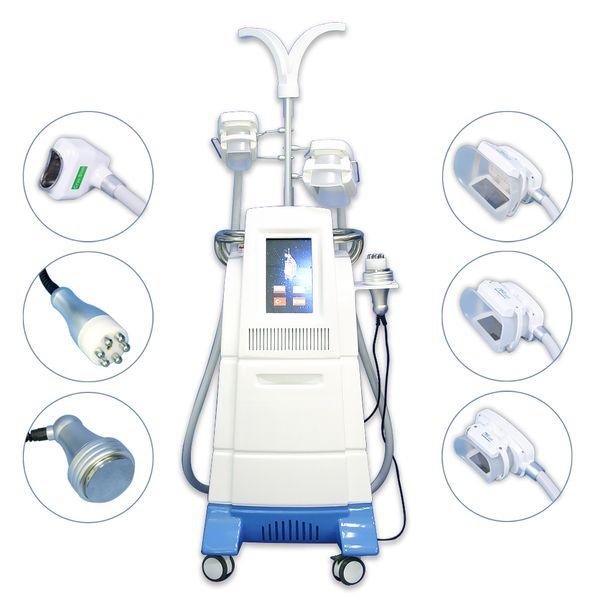 Máquina de congelação gorda do sistema do emagrecimento do corpo da máquina multifuncional do Rf Chin Cryo da cavitação de Cryolipolysis para a máquina gorda do emagrecimento do gelo