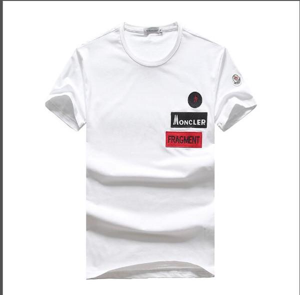 ГОРЯЧАЯ 2019 новая мужская футболка с короткими рукавами майка мужской сплошной хл