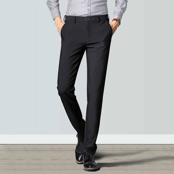 Мужские дизайнерские брюки 2019 Осень Роскошные длинные брюки для мужчин Hot Brand Повседневные мужские брюки Свободные брюки на шнуровке большого размера Дополнительно