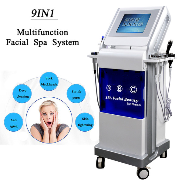 Алмазная микродермабразия гидра для лица Water Dermabrasion Machine машина для очистки кожи пылесос по уходу за кожей Microdermabrasion hydra