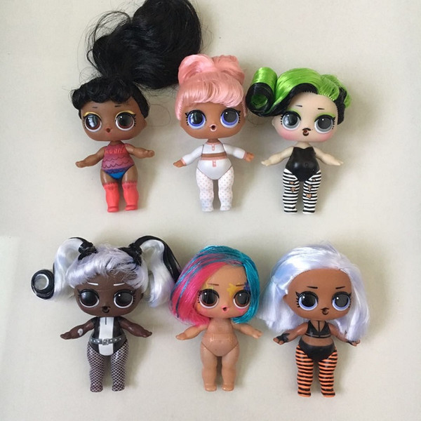New Arrival Series 5 1Pc Naked Doll With Pretty Hairs Can Color Change Suprised Dolls Toys For Girl Best New Year Birthday Gifts