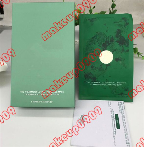 Christmas gifts Famous brand La Face repair Mask the treatment Lotion Hydrating Mask 6 piece in one box face Masks kit ePacket shipping