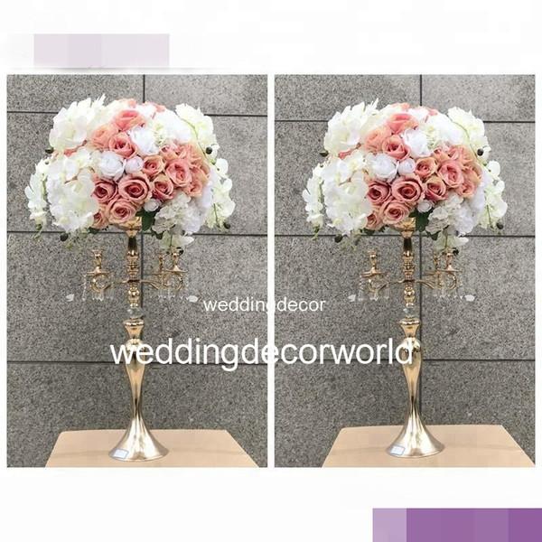 nessun fiore compreso) wedding centrotavola centrotavola fiori di seta stand per centrotavola decor606