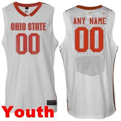 Youth white red stripes