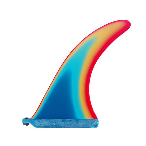 Fiberglass Surf Fins /9.7inch Fiberglass Paddle Board Fin quilhas Longboard Fin Sup Board Center Fin for Inflated Board