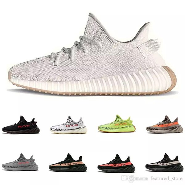 064d5a01e3b 2019 New Arrival Sesame Sply Women Mens 350 V2 Multicolor 1.0 Butter  Running Shoes Kanye West Beluga Myeezy Fashion Luxury Designer Sneaker  Shoes Uk ...