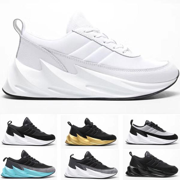 2019 Sharks Concept Tubular Shadow Knit Run Shoes Designer Trainer Sport Shoes Running Sneaker Boys Running Shoes Barefoot Running Shoes From